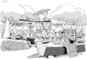 Adelaide Zoo Nature's Playground -  Artist Impression Greg Holfeld Web