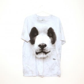panda face adults t shirt