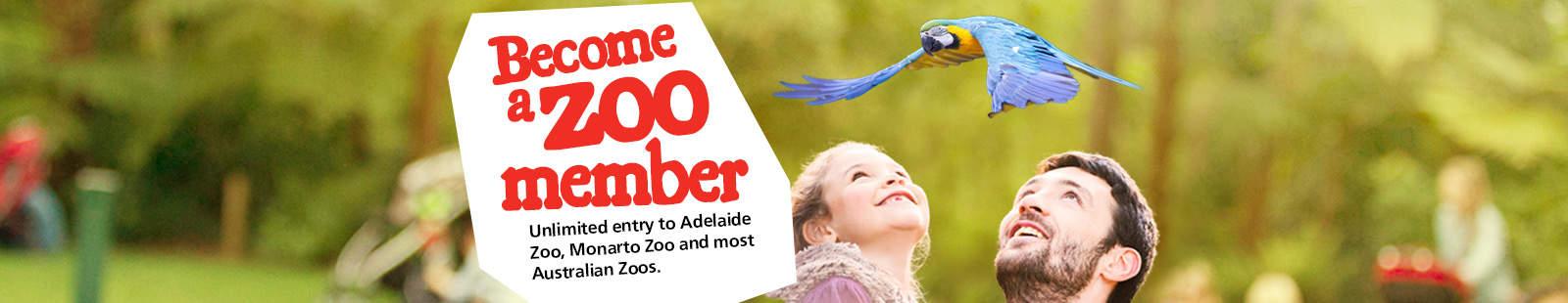 Zoo Memberships, Unlimited Access - Zoos SA