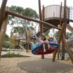 Adelaide Zoo Nature's Playground Swing-Photo by Dave Mattner