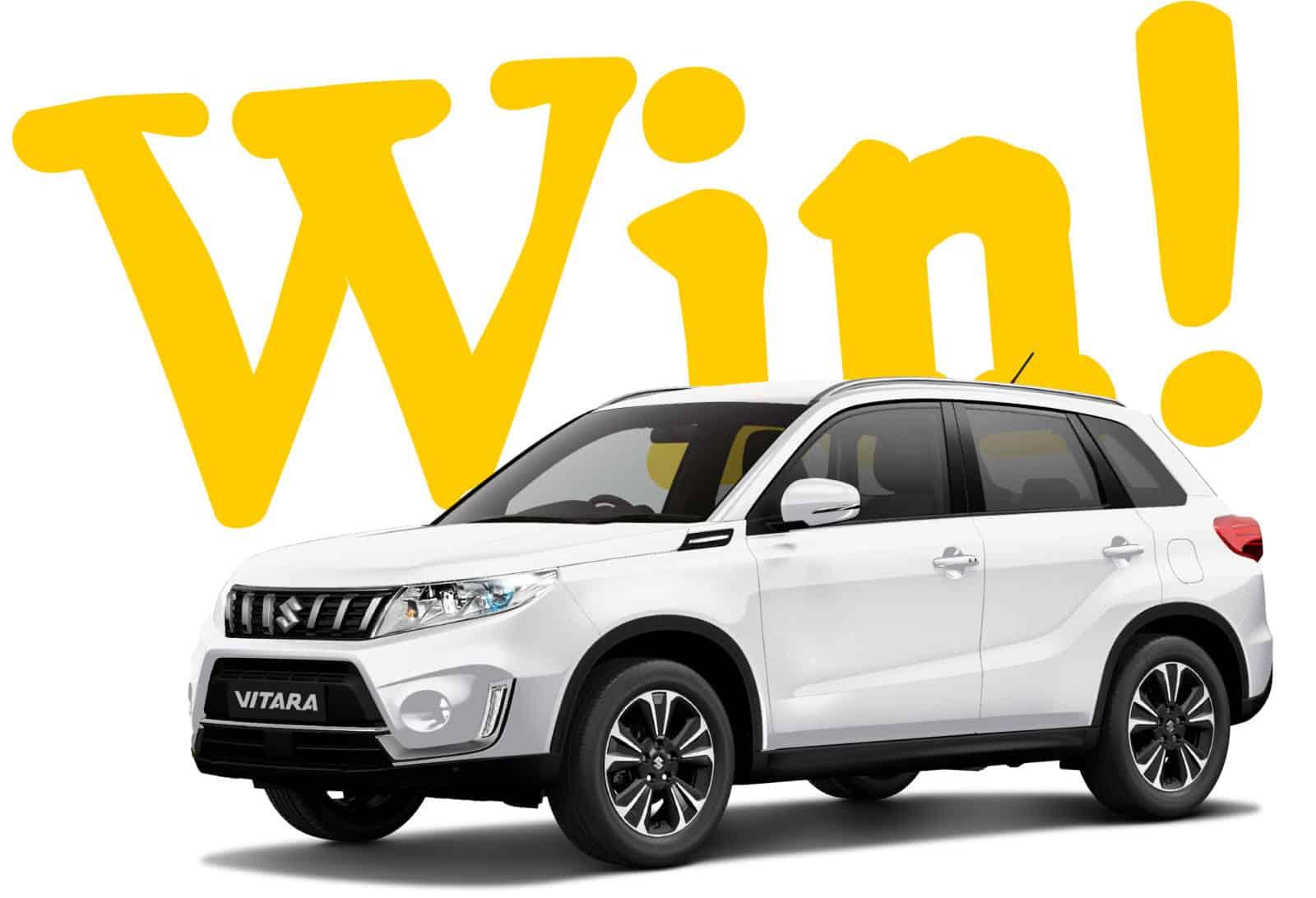 Win a Suzuki Vitara