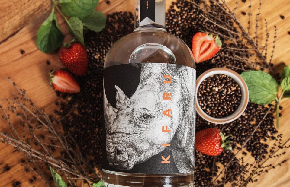 Kifaru gin, Ambleside, conservation