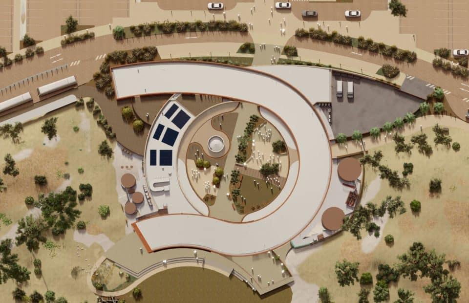 Intro Architects, New build at Monarto Safari Park new Visitor Centre