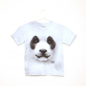 panda face kids t shirt