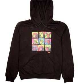 Chimp black hoody web